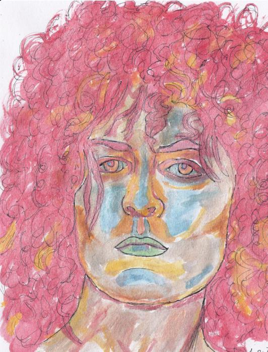 Marc Bolan by James